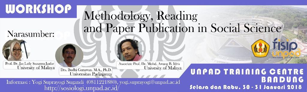 "Workshop ""Methodology, Reading and Paper Publication in Social Science"""